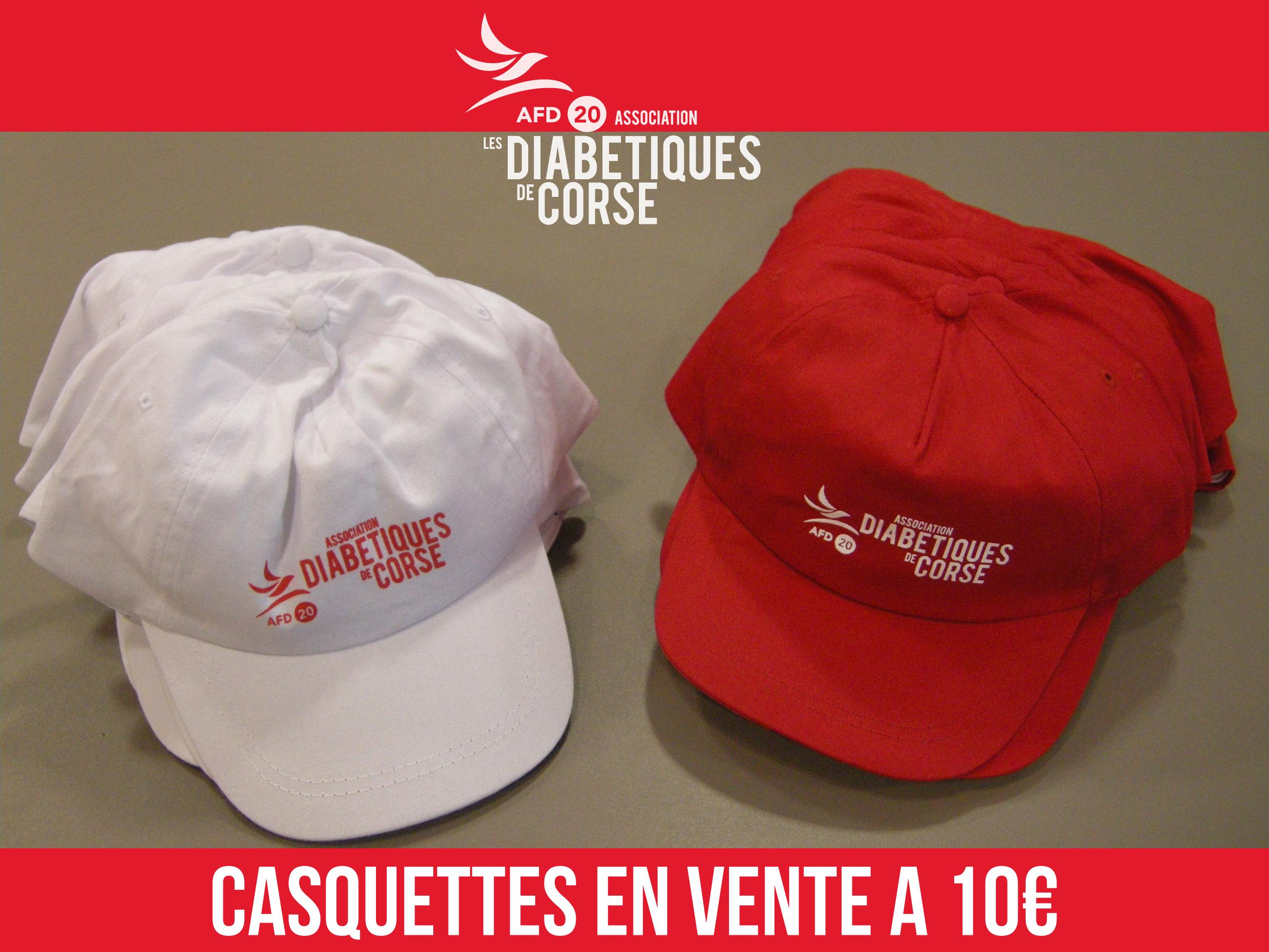 Conception innovante 51efa 8f9d6 Vente de casquettes | Les Diabétiques de Corse – AFD20 – Les ...