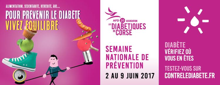 Semaine nationale de prévention 2017