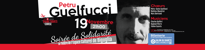 Soirée de Solidarité avec Petru Guelfucci