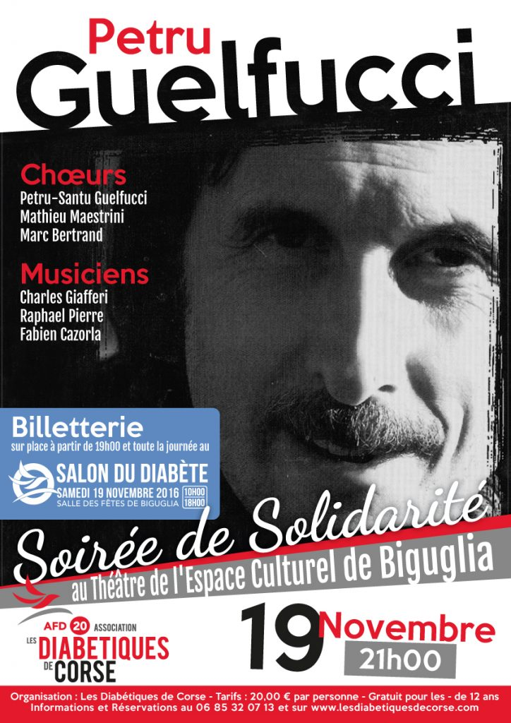 Soirée de solidarité Petru Guelfucci