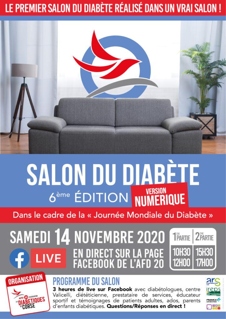 Salon du Diabète 6ème édition en Version Numérique
