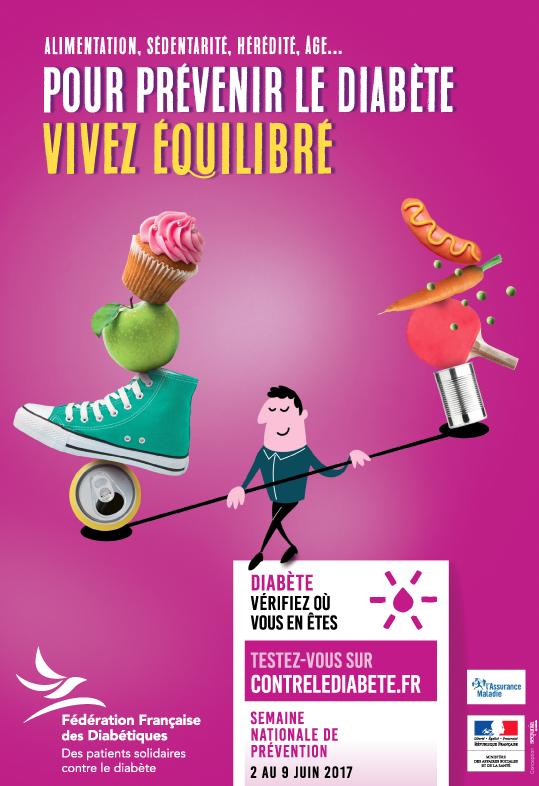 Semaine Nationale de Prévention du diabète 2017 en Corse